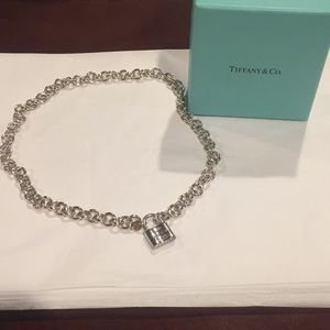 Tiffany & Co Sterling Silver locket necklace